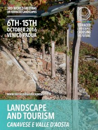 Convegno Terraced landscapes2016 in Valle d'Aosta