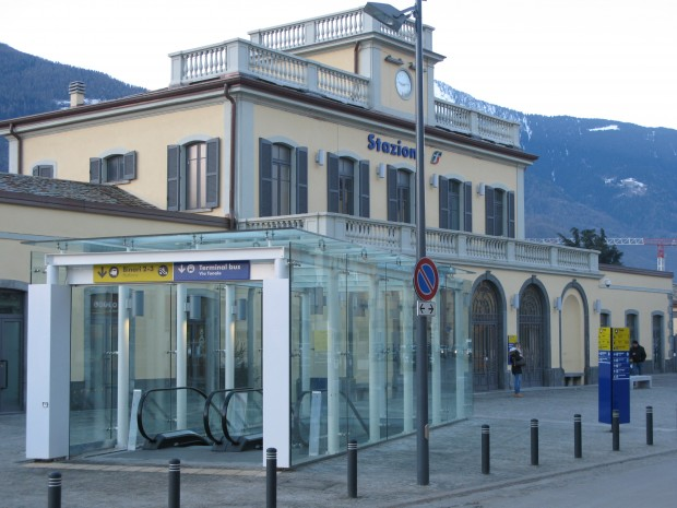 Sondrio railway station pedestrian underpass  - analysis