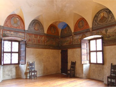 Besta Palace in Teglio (SO) – structural improvement of wooden ceiling structure