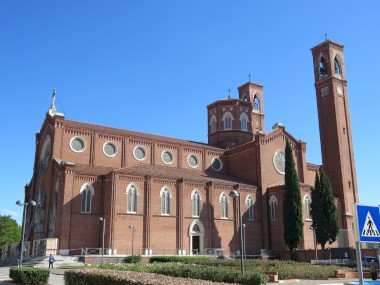 The Ossario temple in Bassano del Grappa (VI)
