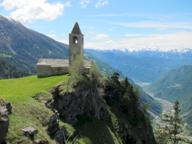 S. Romerio church in Brusio (Switzerland) - structural improvement